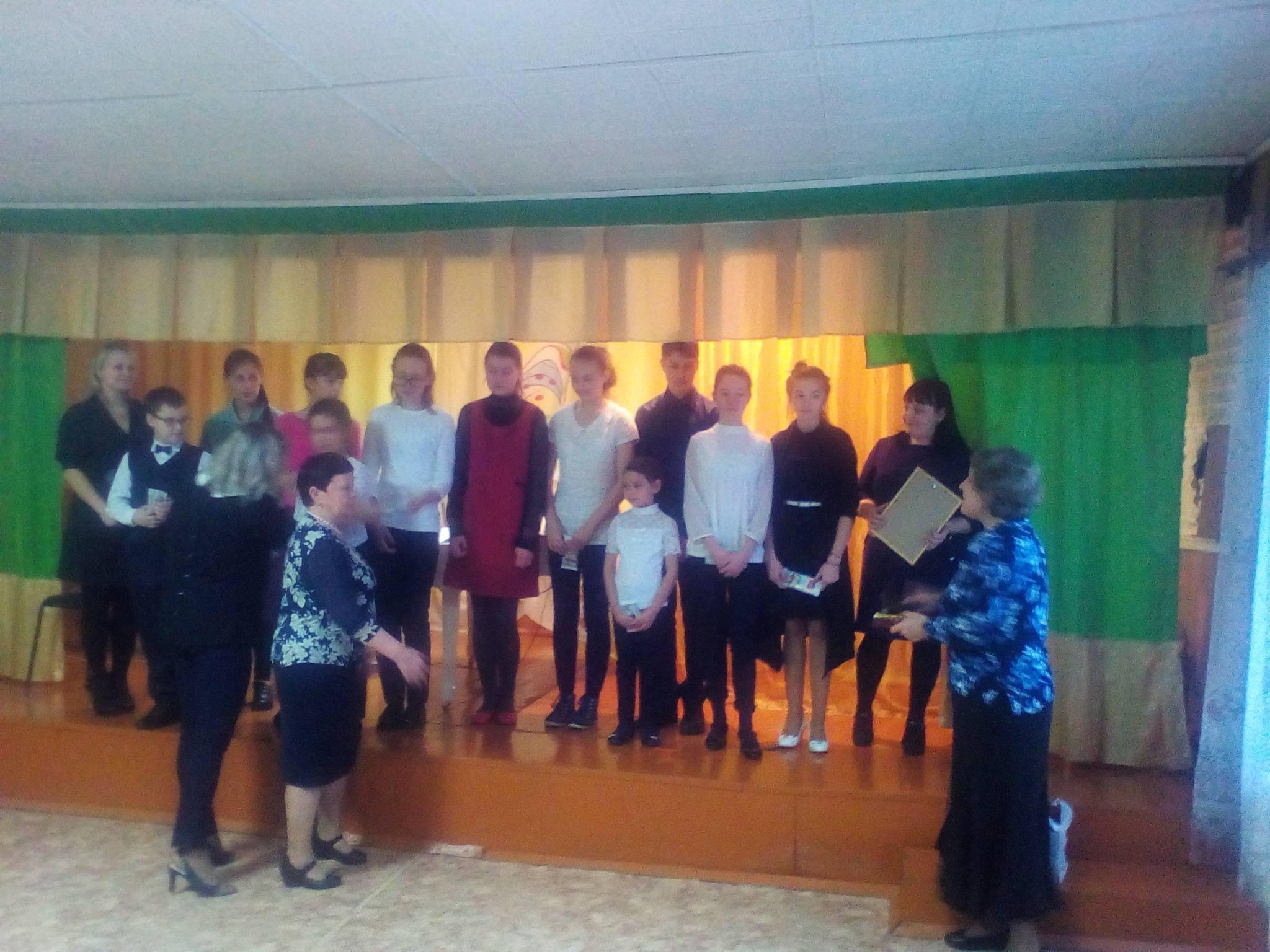Совместное мероприятие отделения дополнительного образования Красноярского колледжа искусств и ДШИ п. Козулька